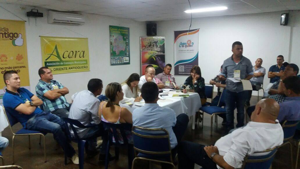 Gustavo Adolfo García, Concejal de Marinilla elegido Presidente de ACORA
