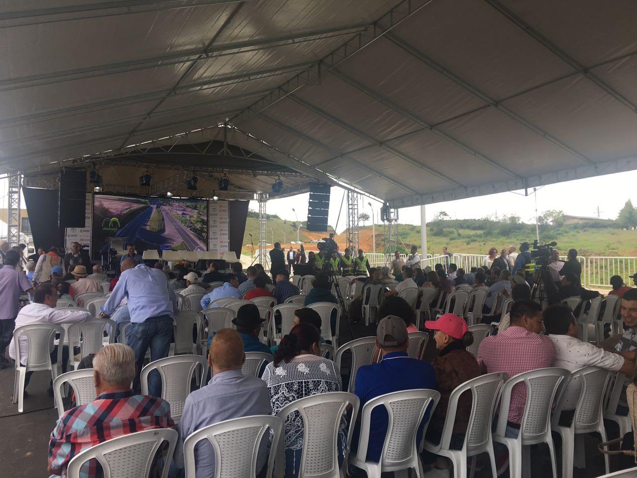 Doble Calzada Marinilla-Santuario fue entregada