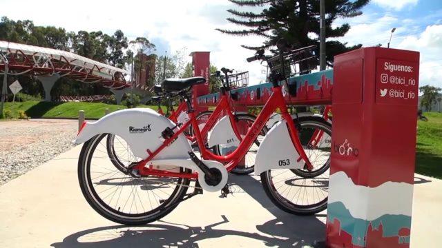 Bici-río todo un éxito en Rionegro
