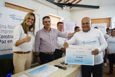 Emprendedores generarán empleo en Rionegro