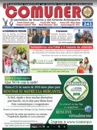 El Comunero Edición 243