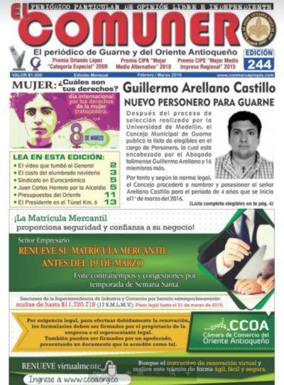 El Comunero Edición 244