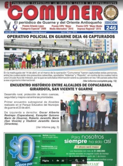 El Comunero Edición 246