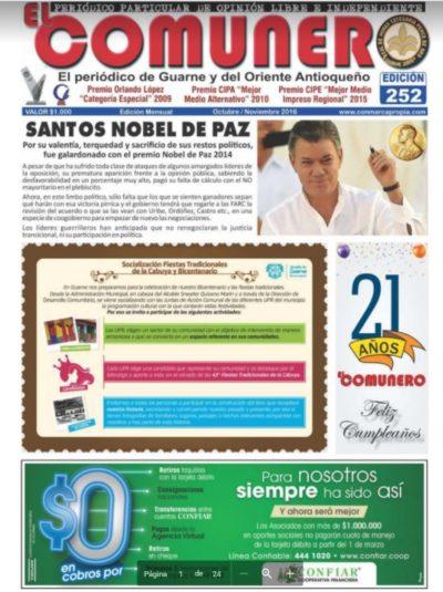 El Comunero Edición 252