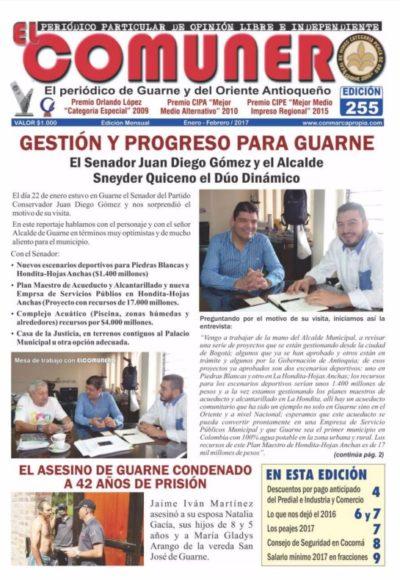 El Comunero Edición 255