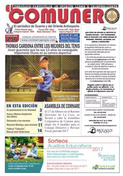 El Comunero Edición 256