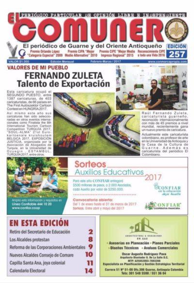 El Comunero Edición 257
