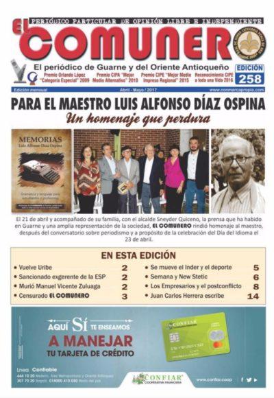 El Comunero Edición 258