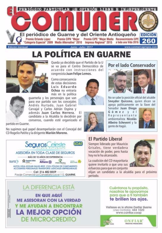 El Comunero Edición 260