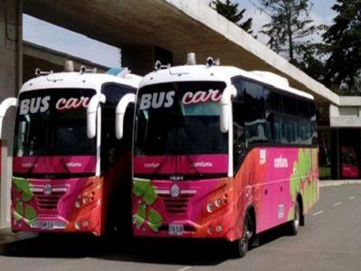 Los buses del empleo de ronda en el Oriente Antioqueño