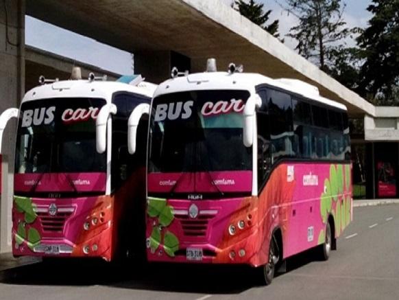 buses comfama