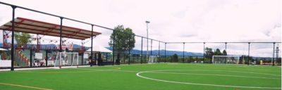 Vereda Las Cuchillas estrena Unidad Deportiva