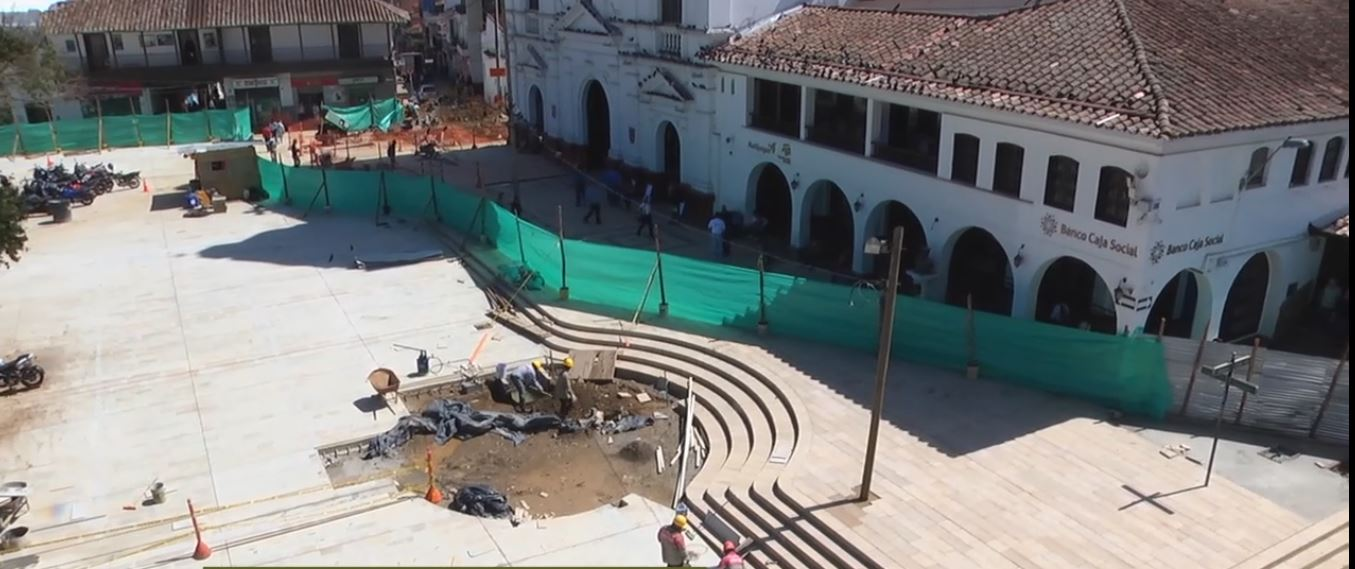 EDESO al orden del día en obras del parque de Rionegro