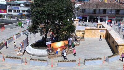 La Navidad se vive en el parque principal de Rionegro