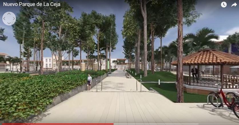 Nuevo parque La Ceja
