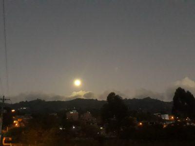 Hermosa Luna llena disfrutó el Oriente Antioqueño