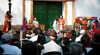 Música religiosa en los parques de Comfama durante la Semana Santa
