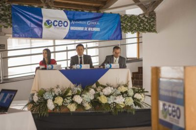 Gremio empresarial del Oriente efectuó su Asamblea anual de afiliados