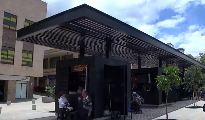 Habilitadas casetas de la Plaza de La Libertad