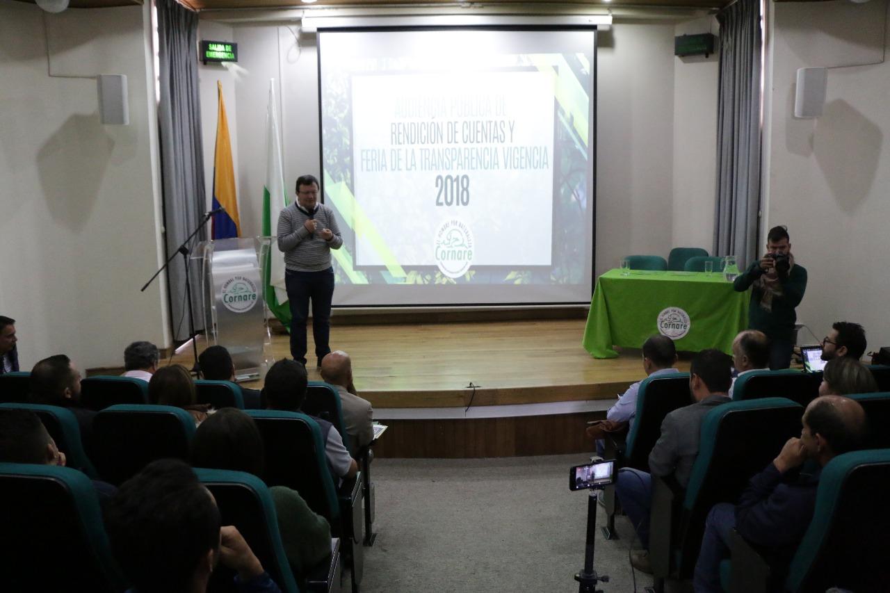 Cornare presentó balance de Gestión 2018