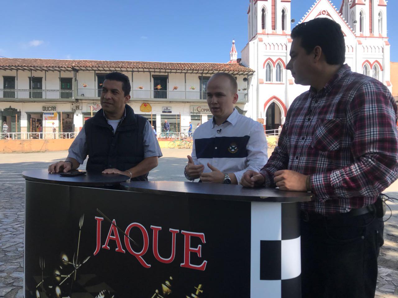 Jaque, Nelsón Carmona Concejal municipio de la Ceja