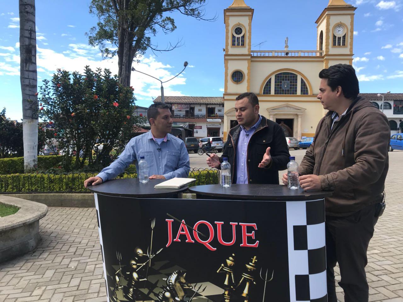 Jaque, Diego Tibaquira Pte. Concejo La Unión