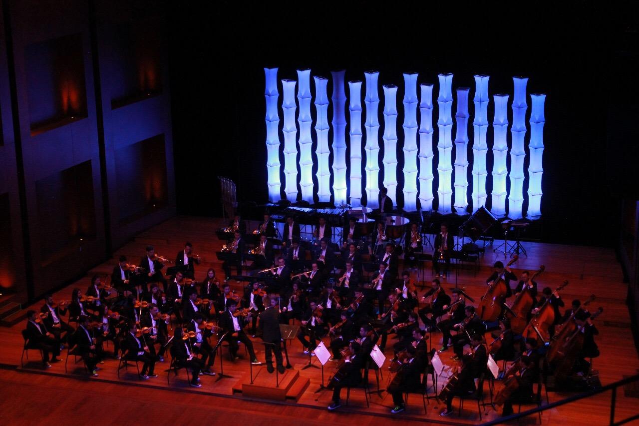 la Filarmónica Joven de Colombia de gira Internacional
