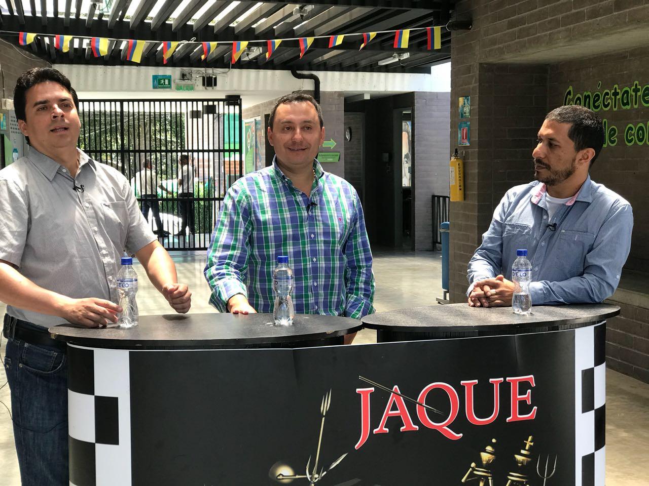 JAQUE, invitado Elkin Ospina, alcalde del municipio de La Ceja del Tambo. Parte 1