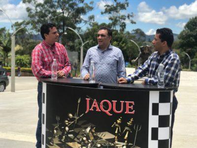 Jaque, invitado Cirilo Henao, alcalde municipio El Peñol