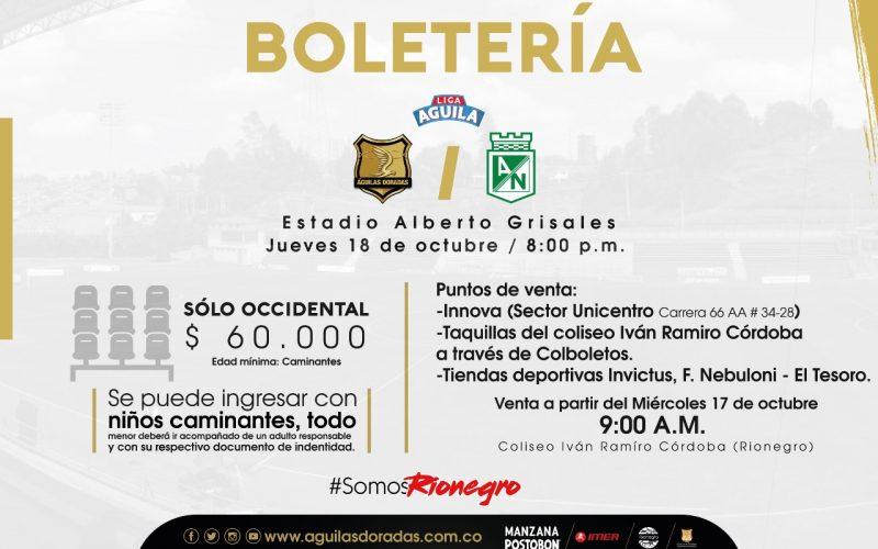 Boletería Aguilas Rionegro (1)