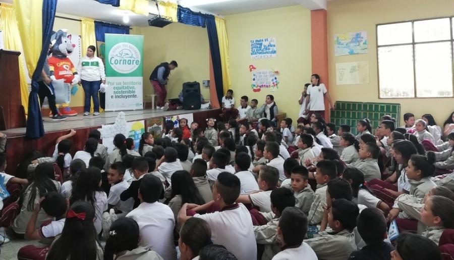 Cornare promueve la Cultura del cuidado de los Recursos Hídricos