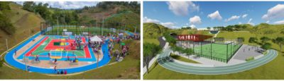 Edeso Inició obras complementarias y mejoramiento de infraestructura de escenarios deportivos