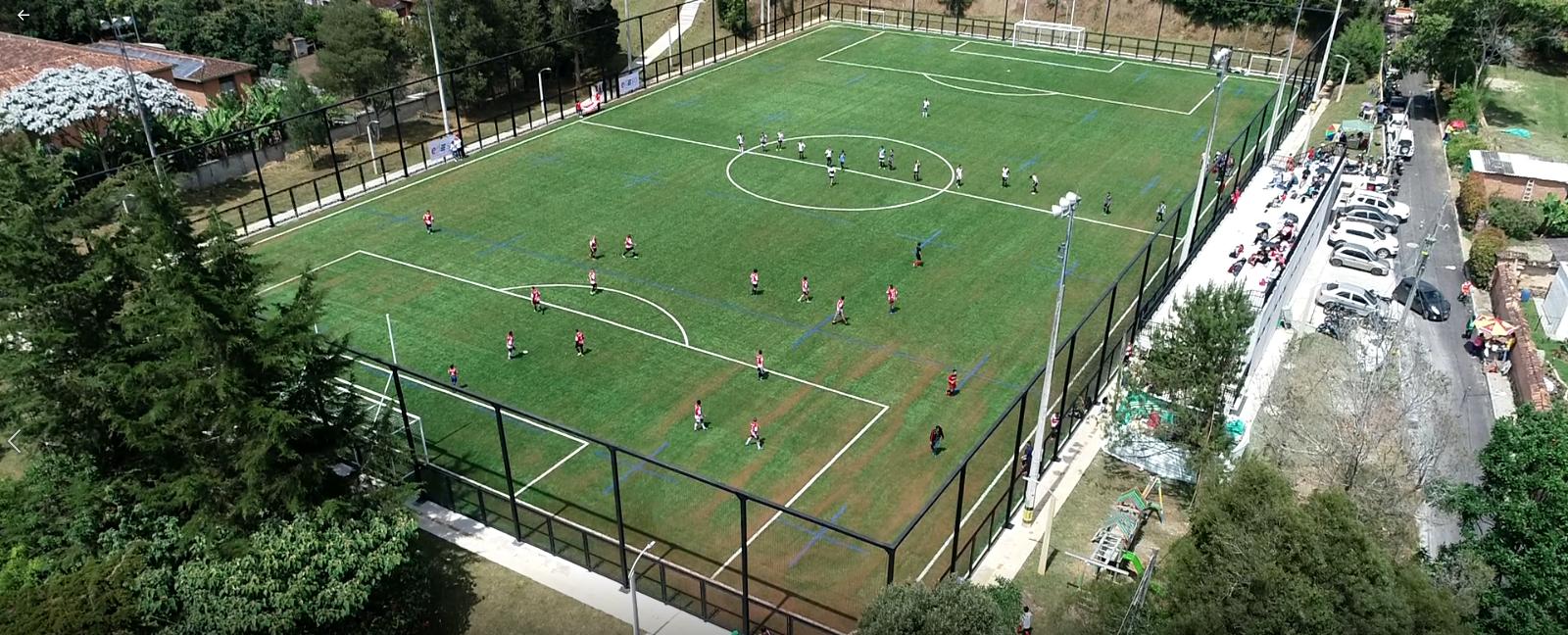 Edeso inicia obras complementarias en Unidades Deportivas de Rionegro