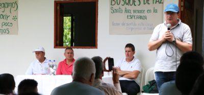 Santa Ana ya cuenta con la segunda fase del Bosque de la Reconciliación