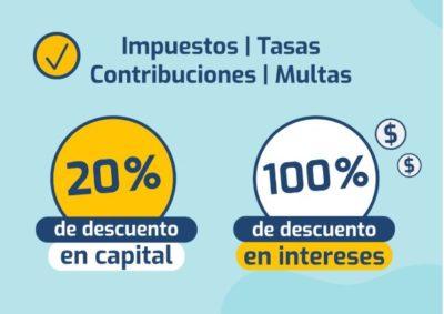 Descuentos en Intereses de impuestos, contribuciones y multas en Rionegro