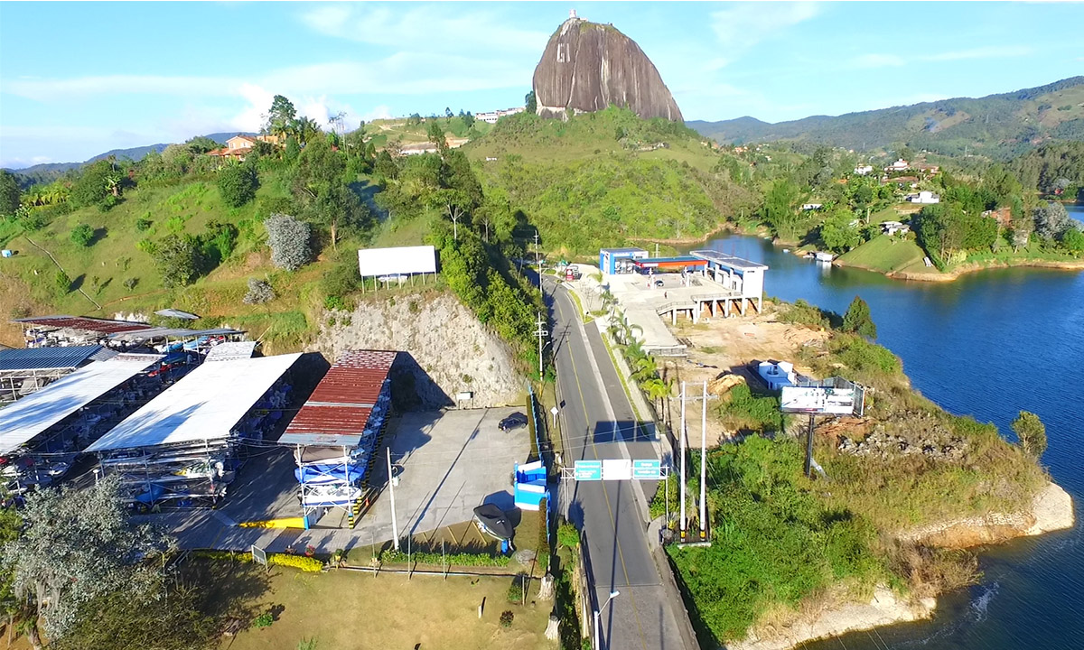 MARINILLA-EL-PEÑOL-GUATAPÉ-VÍA