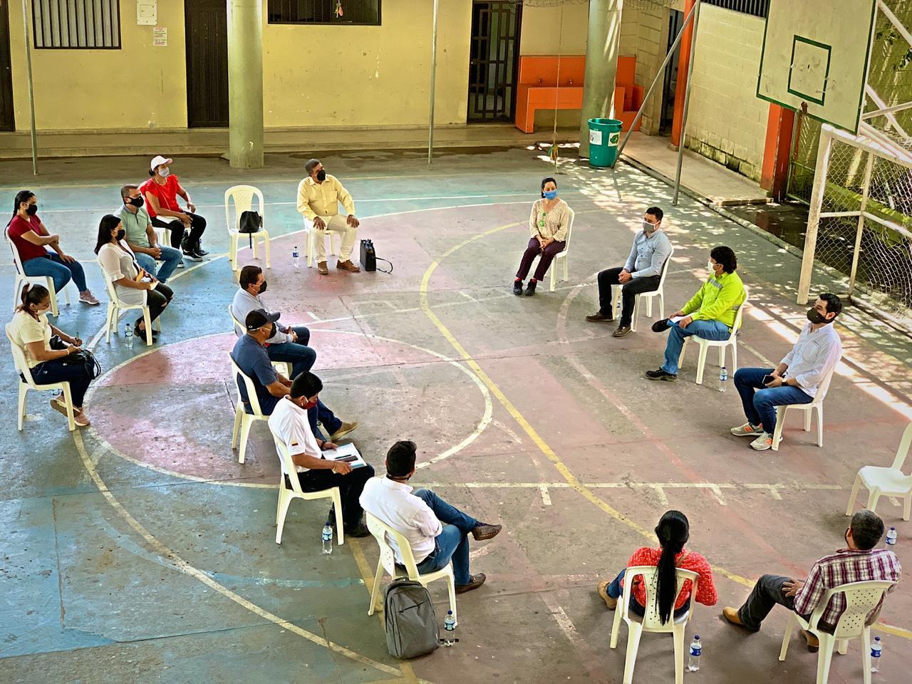 Socialización - Nuevo alcantarillado en Jerusalén (2)