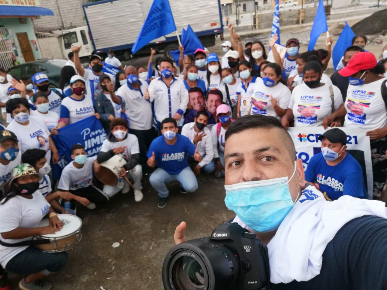 Rionegrero en las elecciones del Ecuador